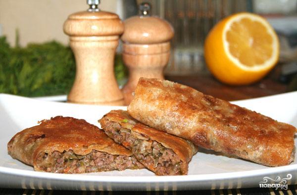 Рецепт Пирожки с говяжьим фаршем