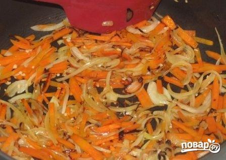 Китайская лапша с креветками - фото шаг 4
