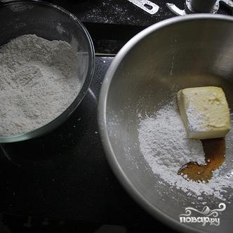 Ореховые коржики - фото шаг 2