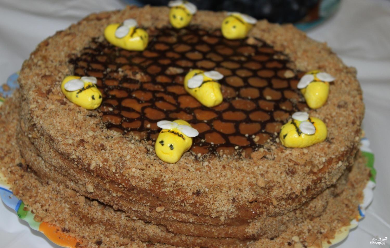Медовый торт Пчелка рецепт с фото пошаговое. - Дело Вкуса