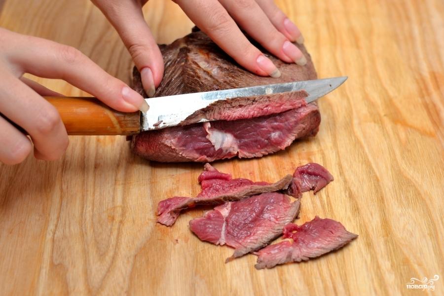 Карпаччо из говядины - фото шаг 2