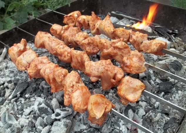 Шашлык из курицы по-грузински - фото шаг 4