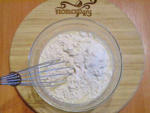 Вкусное тесто на кефире - фото шаг 3