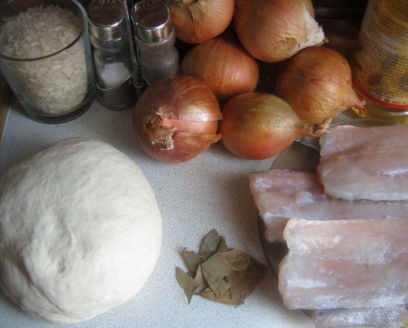 Рецепт Рыбный пирог на майонезе
