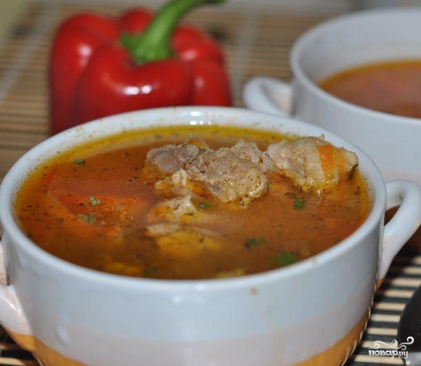 Индейка с овощами на шпажках в духовке рецепт
