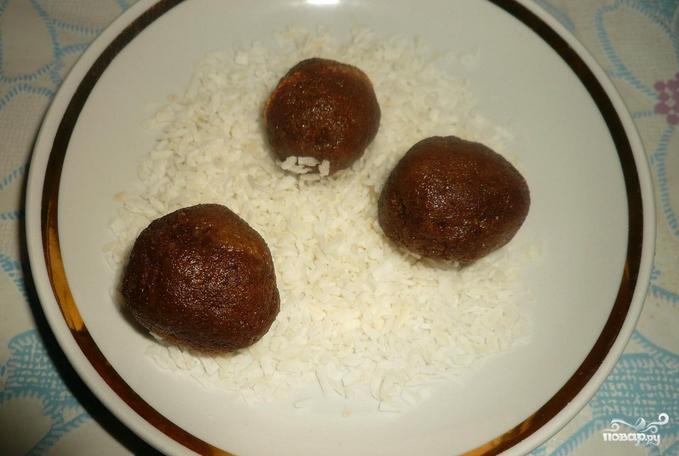 """Пирожное """"Картошка"""" из батона - фото шаг 4"""