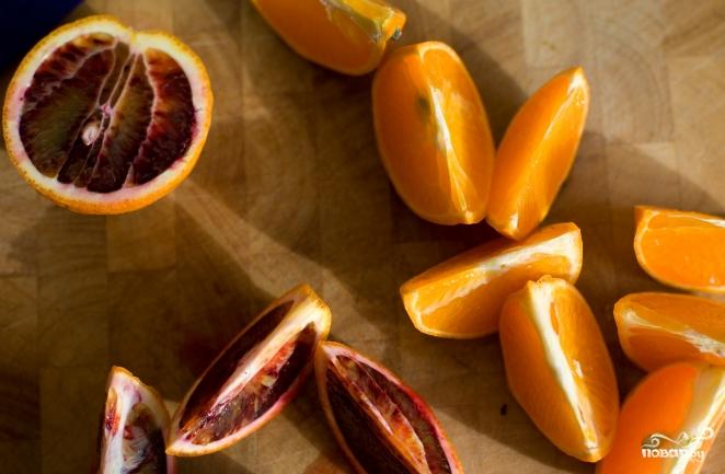 Жареные апельсины - фото шаг 1