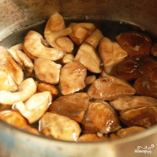 Рецепт Свинина с грибами под сыром