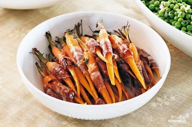 Новогодняя морковная закуска