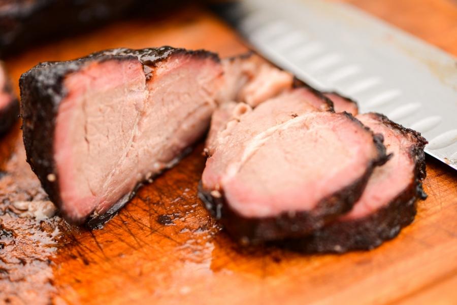 Рецепт Копченая свинина