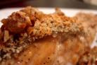 Запеченный лосось с орехами