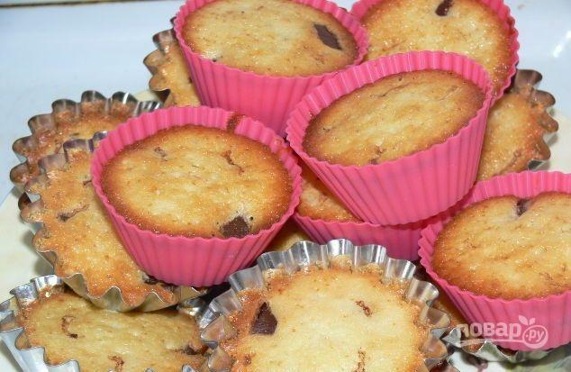Кексы с черникой рецепты с фото в силиконовых формочках