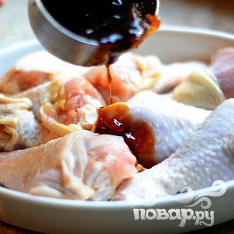 Куриные ножки в сладком соусе - фото шаг 5