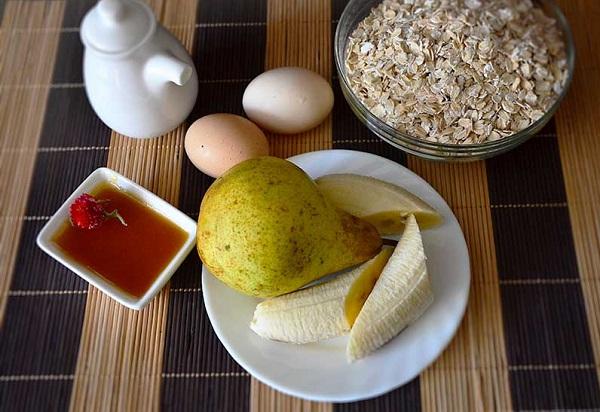 Рецепт Банановые панкейки диетические