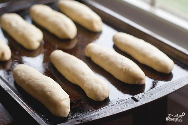Булочки для хот-догов - фото шаг 6