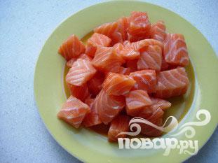 Критский лосось - фото шаг 2