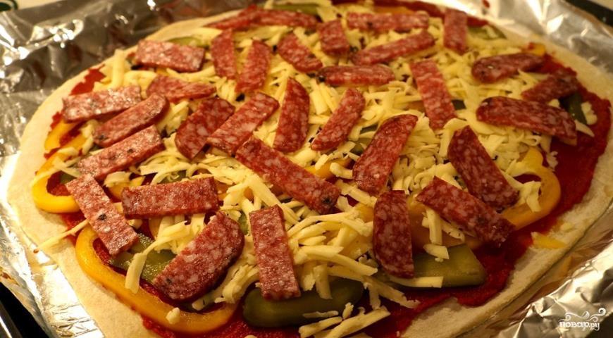 Легкая пицца - фото шаг 7