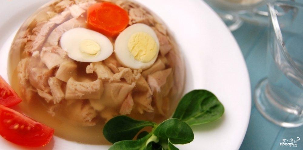 Рецепт Заливное из свинины