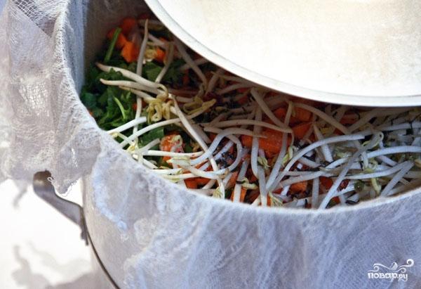 Овощной бульон в пароварке - фото шаг 6