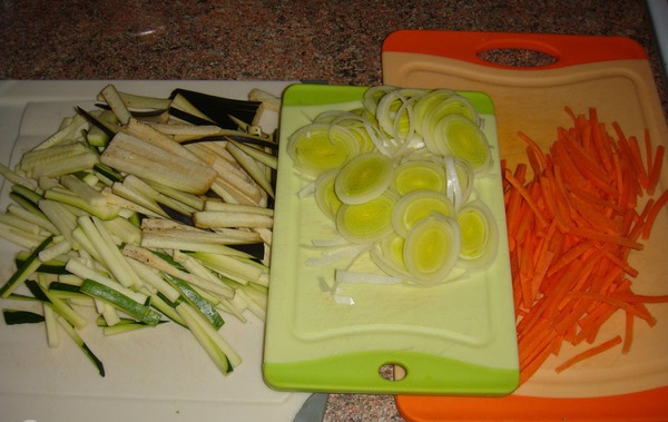 Рецепт Курица с овощами по-японски