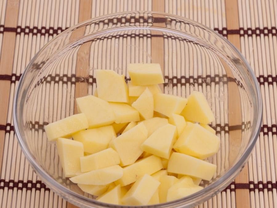 Суп из консервированных грибов   - фото шаг 2