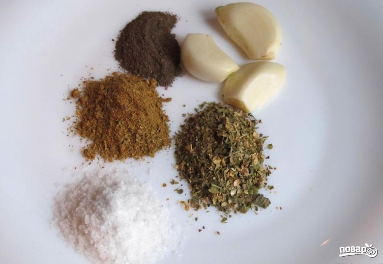 Люля-кебаб из баранины в духовке - фото шаг 3