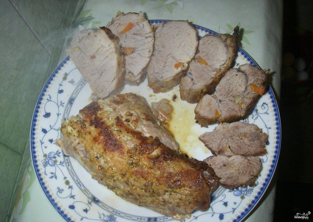 время приготовления мясо в фольге в духовке рецепт