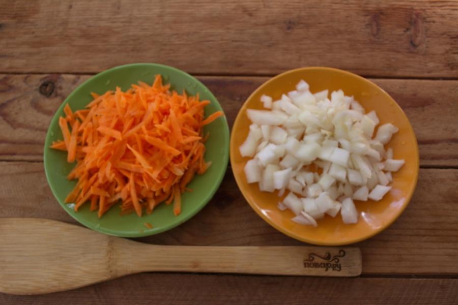Суп гороховый с гренками - фото шаг 2