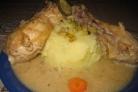Подливка из курицы со сметаной