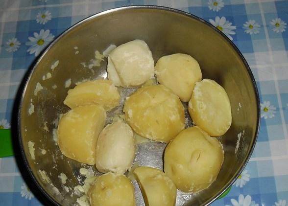 Рецепт Картошка с кефиром