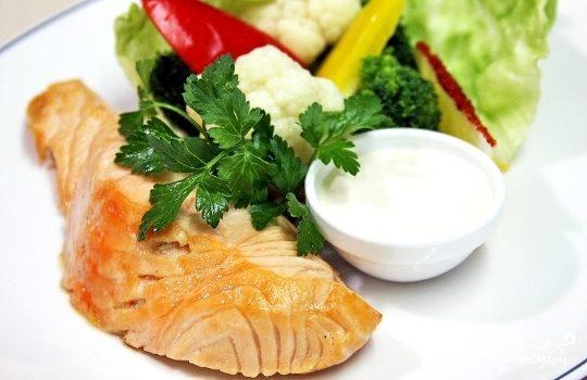 Рецепт Рыба в мультиварке на пару