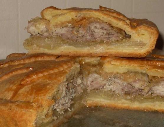 Фото пирог с картошкой и мясом