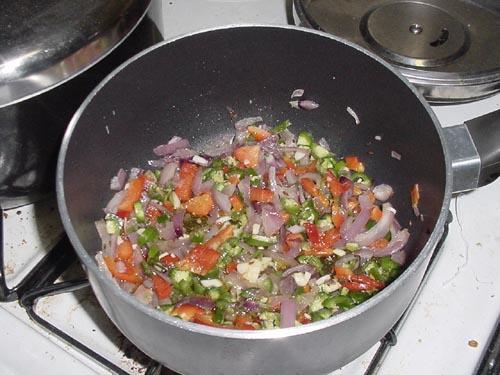 Вегетарианская черная фасоль Чили - фото шаг 5