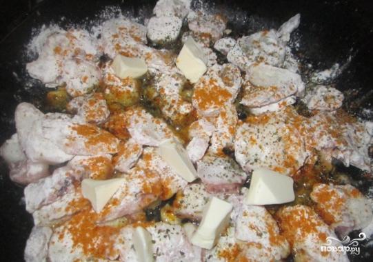 Осьминоги в чесночном соусе - фото шаг 3