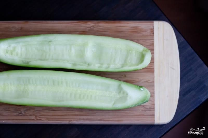 Рецепт Греческий соус с огурцами