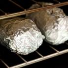 Рецепт Запеченный картофель с луком, сыром и сметаной