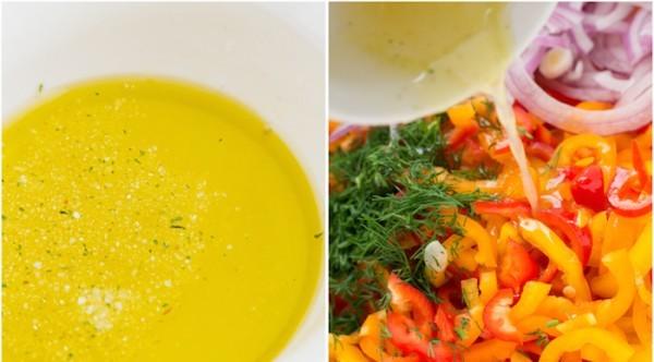 Салат из маленьких перчиков - фото шаг 3