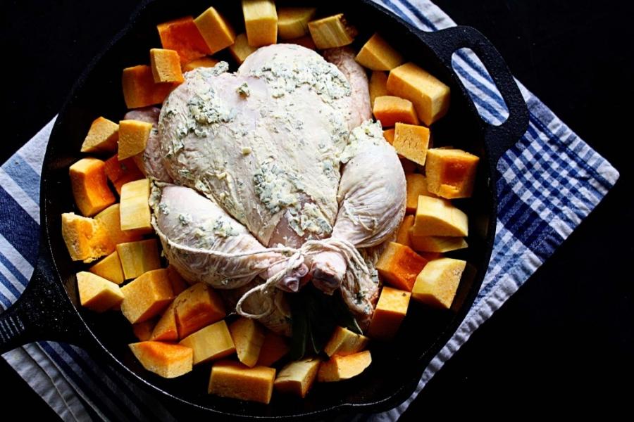 Курица в гранатовом соусе - фото шаг 10