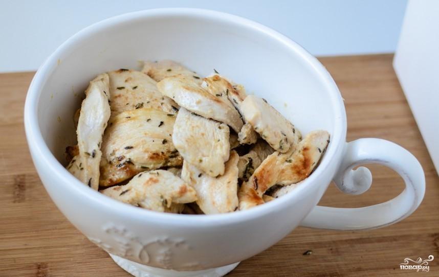 Паста с курицей и грибами - фото шаг 5