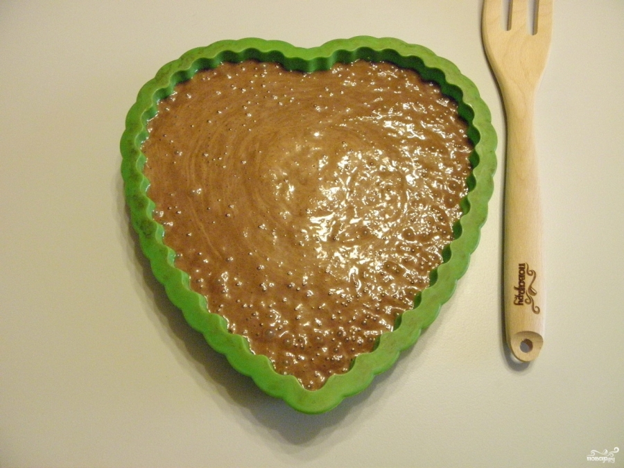 Торт в виде сердца - фото шаг 5