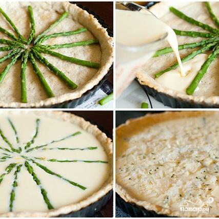 Тарт со спаржей - фото шаг 5