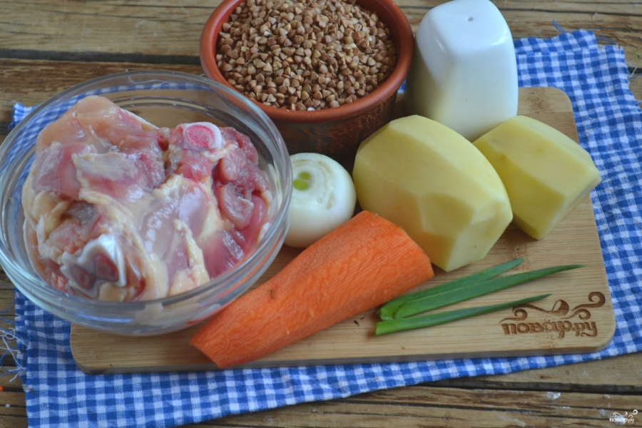 Суп из утки - фото шаг 1