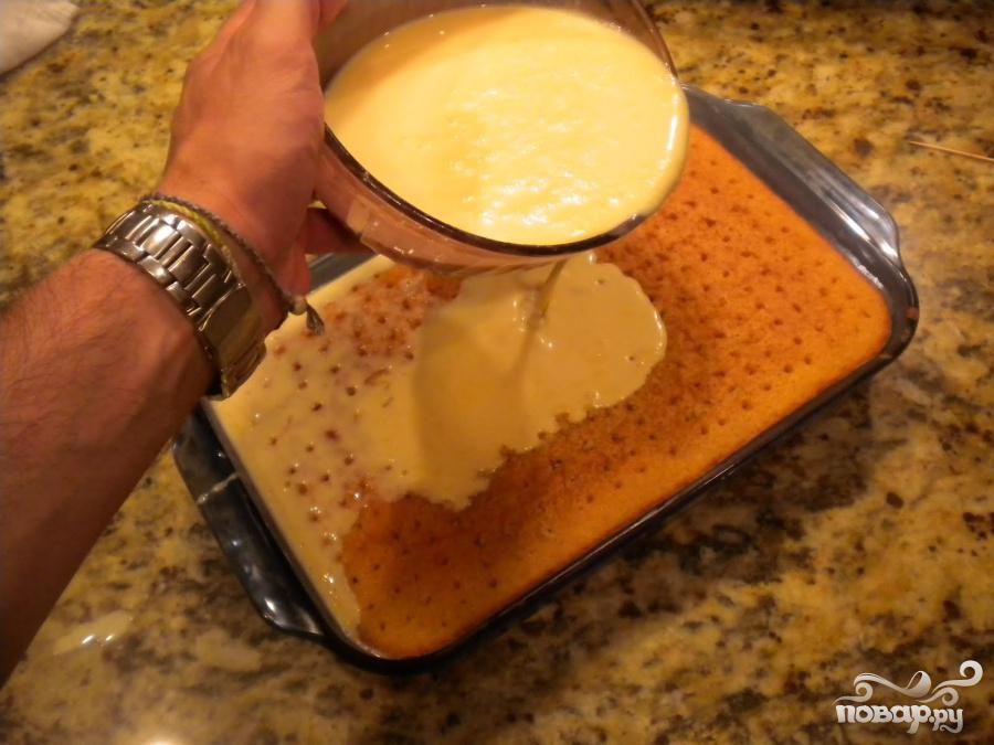 Торт из трех видов молока - фото шаг 5