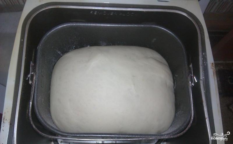Сдобное тесто в хлебопечке - фото шаг 6