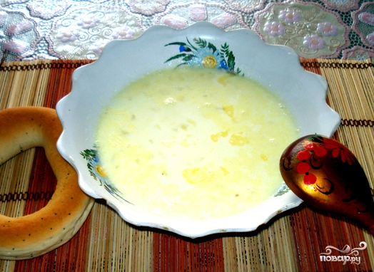 Молочный суп с пшеном - фото шаг 4