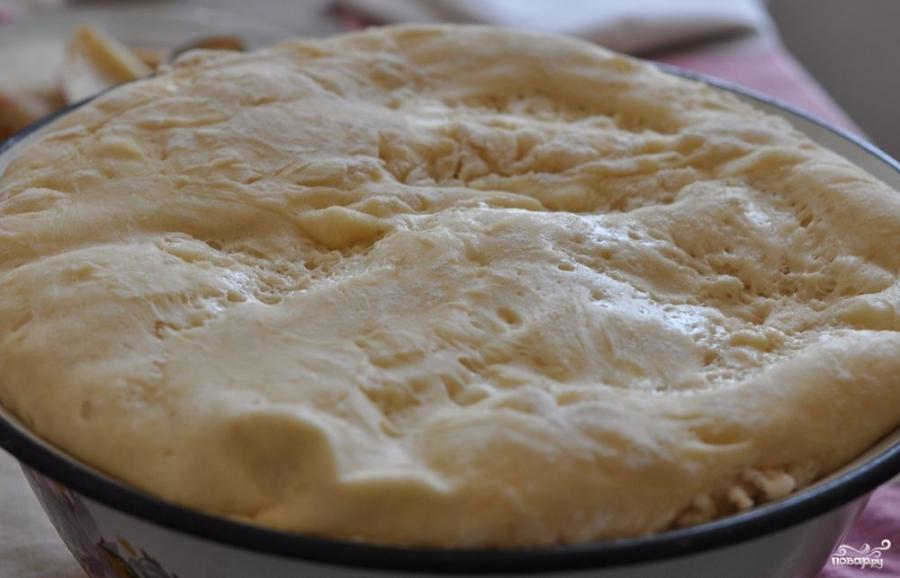 Дрожжевое тесто для булочек - фото шаг 5