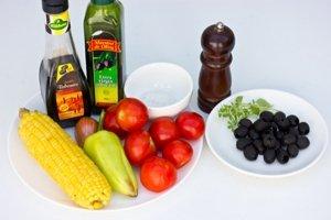 Рецепт Салат к запеченному мясу
