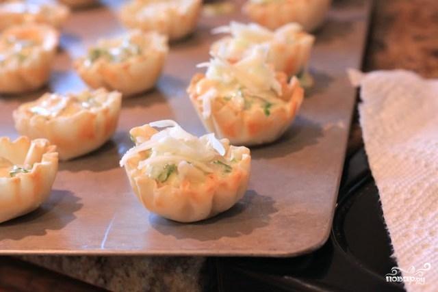 Закуска в тарталетках с семгой - фото шаг 3