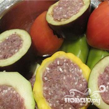 Фаршированные овощи или овощное ассорти - фото шаг 5