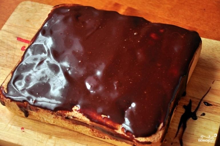 Бисквитный пирог - фото шаг 10